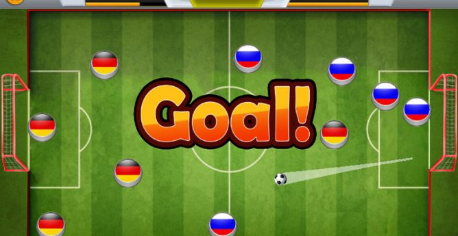 پروژه کامل مشابه soccer star یونیتی