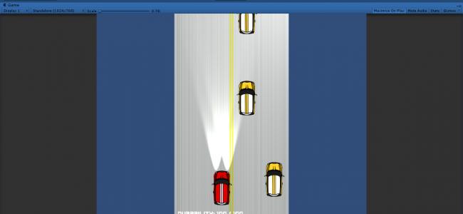 دانلود پروژه کامل دو بعدی Traffic_Racer2D