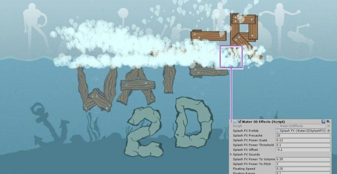 دانلود پکیج Water 2D Kit