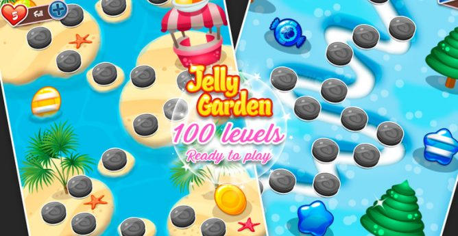 پروژه کامل – jelly garden