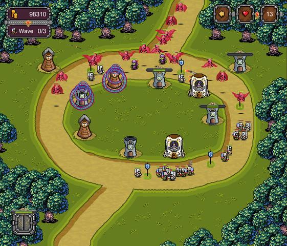 سورس بازی tower defence pixel