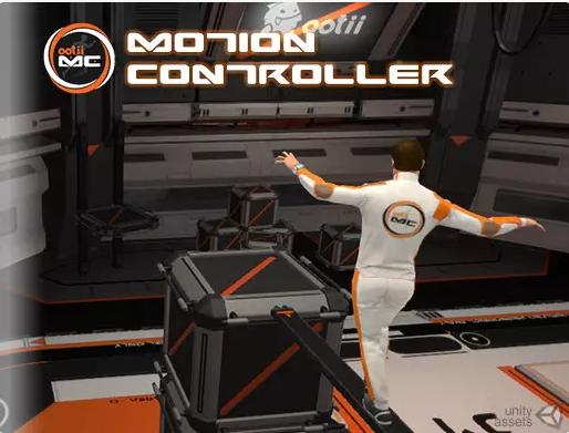 پکیج Third Person Motion Controller
